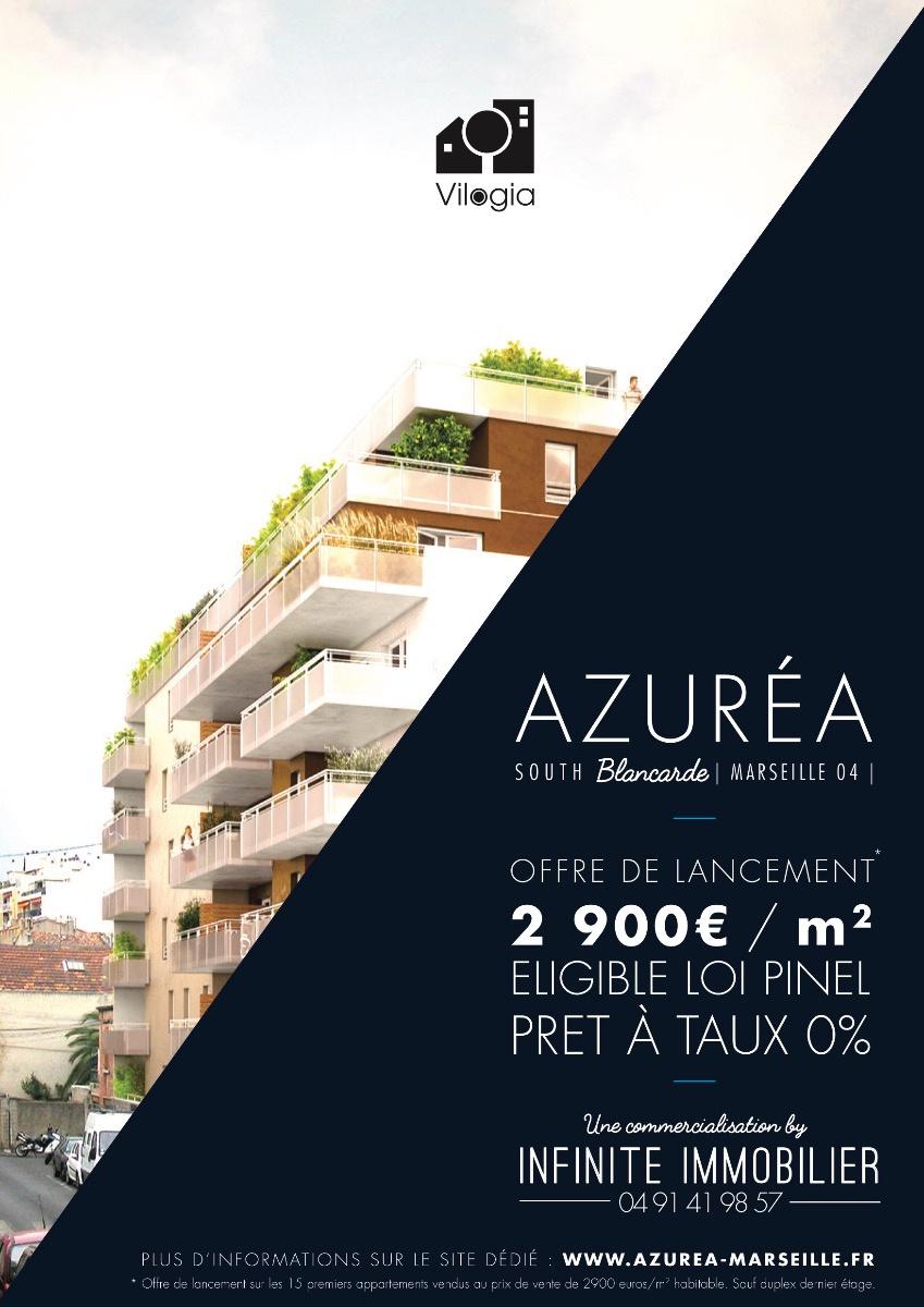 Programme neuf Appartement Marseille 4 (13004)